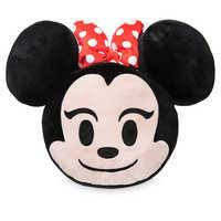 Image of Minnie Mouse Emoji Pillow # 1