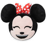 Image of Minnie Mouse Emoji Pillow # 2
