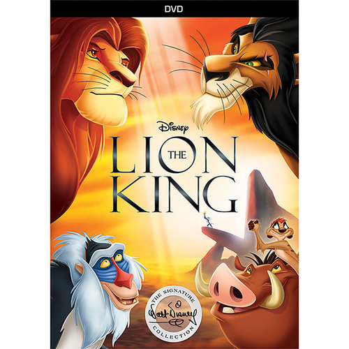 The Lion King Dvd Signature Collection Shopdisney