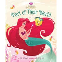 Image of The Little Mermaid: Part of Their World Book # 1