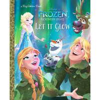 Image of Frozen Northern Lights: Let It Glow - Big Golden Book # 1