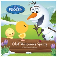 Frozen: Olaf Welcomes Spring Touch-and-Feel Book