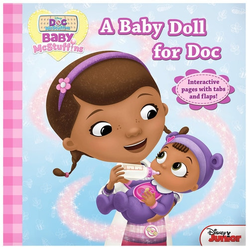 Disney The Doc Is In 4 Piece Doc Mcstuffins Toddler: Doc McStuffins: A Baby Doll For Doc Book