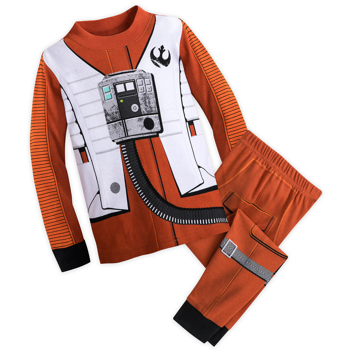 Product Image of Poe Dameron Costume PJ Set for Kids - Star Wars  The Last 3dae1b266