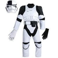 Image of The First Order Judicial Stormtrooper Costume for Kids - Star Wars: The Last Jedi # 2