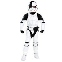 Image of The First Order Judicial Stormtrooper Costume for Kids - Star Wars: The Last Jedi # 1