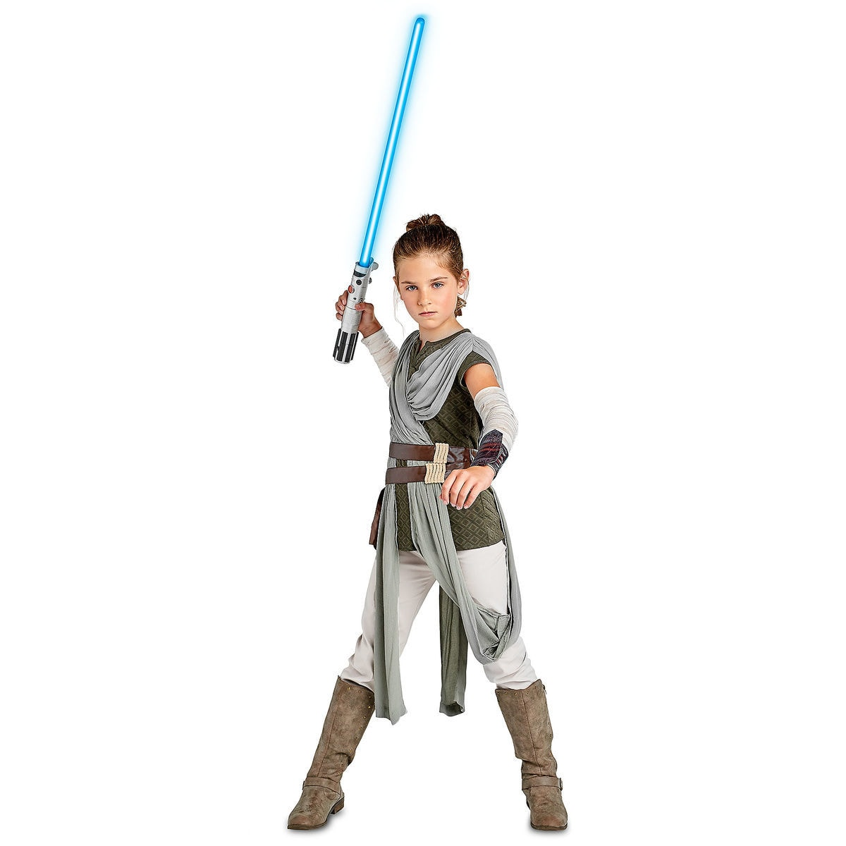 rey costume for kids - star wars: the last jedi | shopdisney
