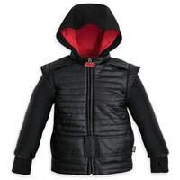 Kylo Ren Premium Hooded Jacket for Boys - Star Wars: The Last Jedi