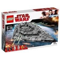 Image of First Order Star Destroyer by LEGO - Star Wars: The Last Jedi # 7