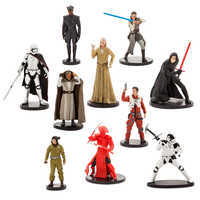 Image of Star Wars: The Last Jedi Deluxe Figure Play Set # 1