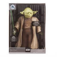 Image of Yoda Talking Action Figure with Lightsaber - 9'' - Star Wars # 3