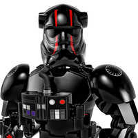 Image of Elite TIE Fighter Pilot Figure by LEGO - Star Wars: The Last Jedi # 3