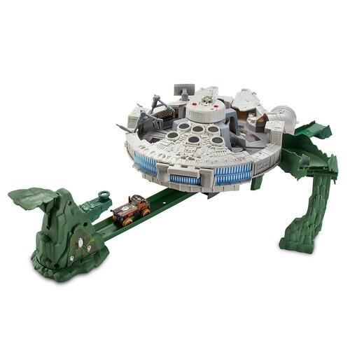 Millennium Falcon Track Set - Star Wars: The Last Jedi - Hot Wheels