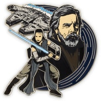Rey & Luke Skywalker Pin - Star Wars: The Last Jedi