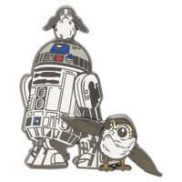 R2-D2 & Porgs Pin - Star Wars: The Last Jedi