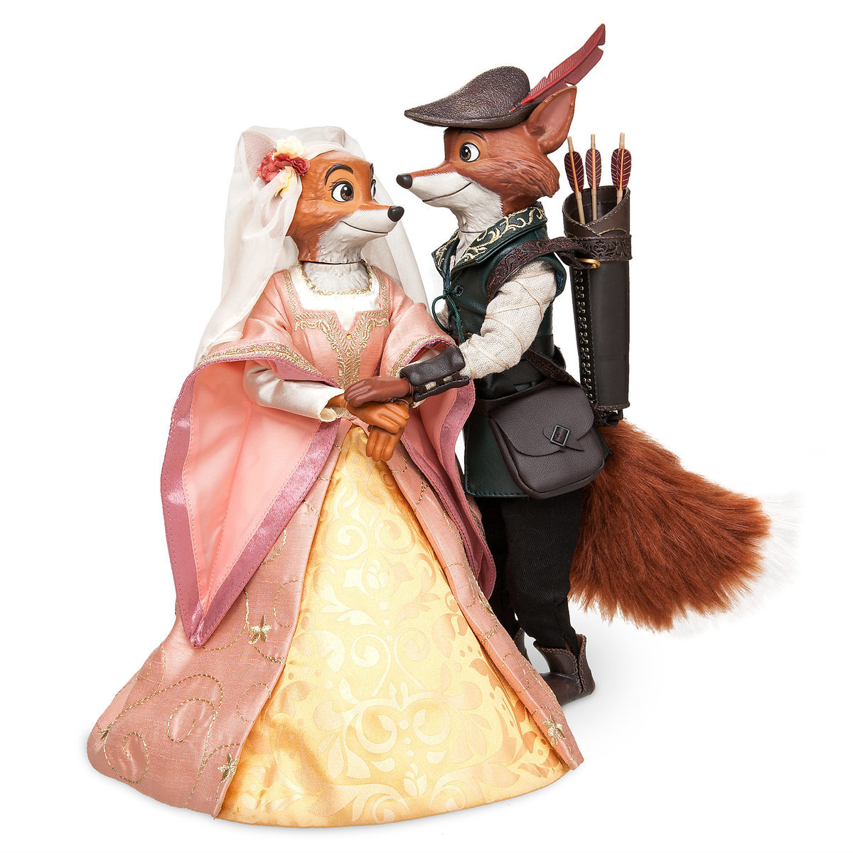 c5bbeea19f0 Product Image of Robin Hood and Maid Marian Doll Set - Disney Designer  Fairytale Collection -