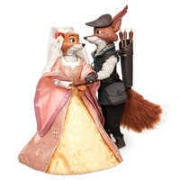 Image of Robin Hood and Maid Marian Doll Set - Disney Designer Fairytale Collection - Limited Edition # 1