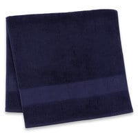 Mickey Mouse Icon Hand Towel - Navy