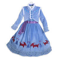 Image of Anna Deluxe Costume for Kids - Olaf's Frozen Adventure # 2