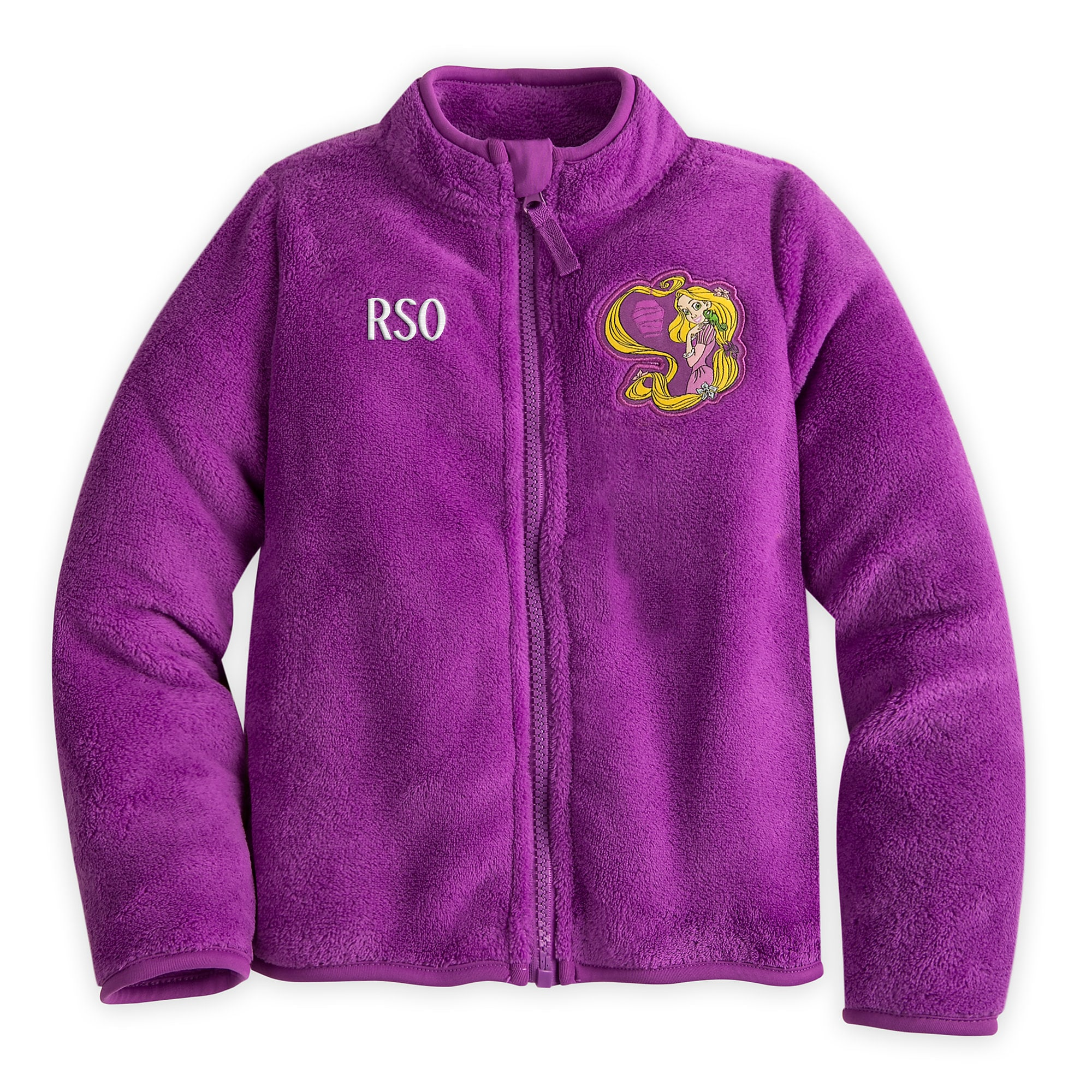 Rapunzel Fleece Jacket for Girls - Personalizable