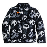 Jack Skellington Fleece Jacket for Boys - Personalizable