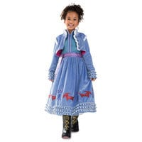 Image of Anna Deluxe Costume for Kids - Olaf's Frozen Adventure # 1