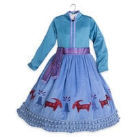 Image of Anna Deluxe Costume for Kids - Olaf's Frozen Adventure # 3