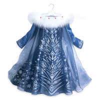 Image of Elsa Deluxe Costume for Kids - Olaf's Frozen Adventure # 3
