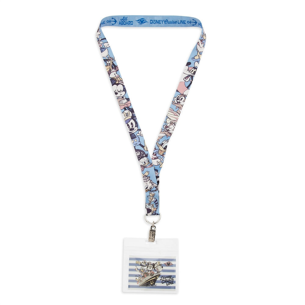 Mickey Mouse and Friends Lanyard - Disney Cruise Line