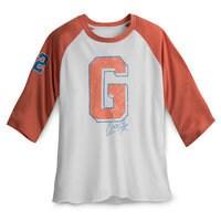 Goofy Letterman Baseball T-Shirt for Men