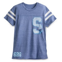 Stitch Letterman Football T-Shirt for Men