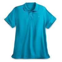 Mickey Mouse Pima Cotton Polo Shirt for Men - Turquoise
