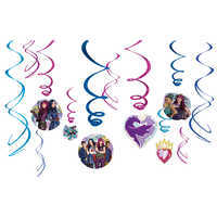 Image of Descendants 2 Swirl Decorations Set # 1