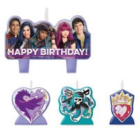 Image of Descendants 2 Birthday Candle Set # 1