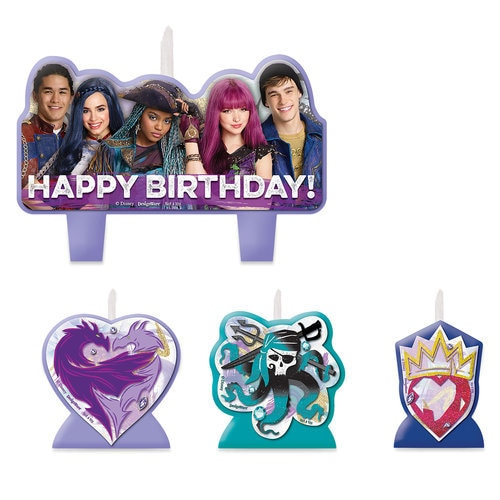 Descendants 2 Birthday Candle Set