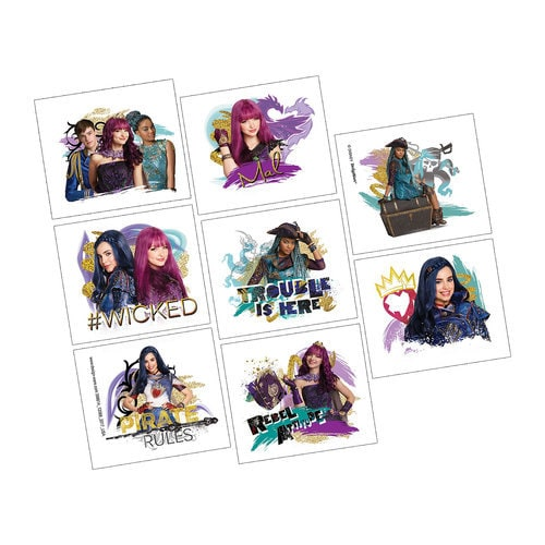 Descendants 2 Tattoos - 2-Pack