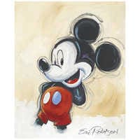 Image of ''Classic Mickey'' Giclée by Eric Robison # 1