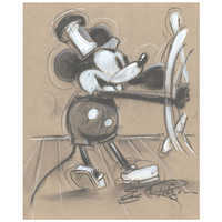 Image of Mickey Mouse ''Steamboat Willie'' Giclée by Eric Robison # 1