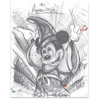 Image of Mickey Mouse ''The Apprentice''	Giclée by Eric Robison # 1