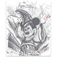 Image of Mickey Mouse ''The Apprentice''Giclée by Eric Robison # 1