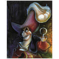 Image of ''Captain Hook'' Giclée by Darren Wilson # 1