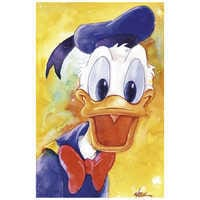 Image of ''Donald Duck Quacks'' Giclée by Randy Noble # 1