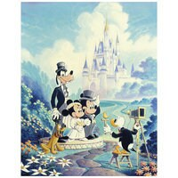 Image of ''Mickey and Minnie Wedding'' Giclée by Randy Souders # 1