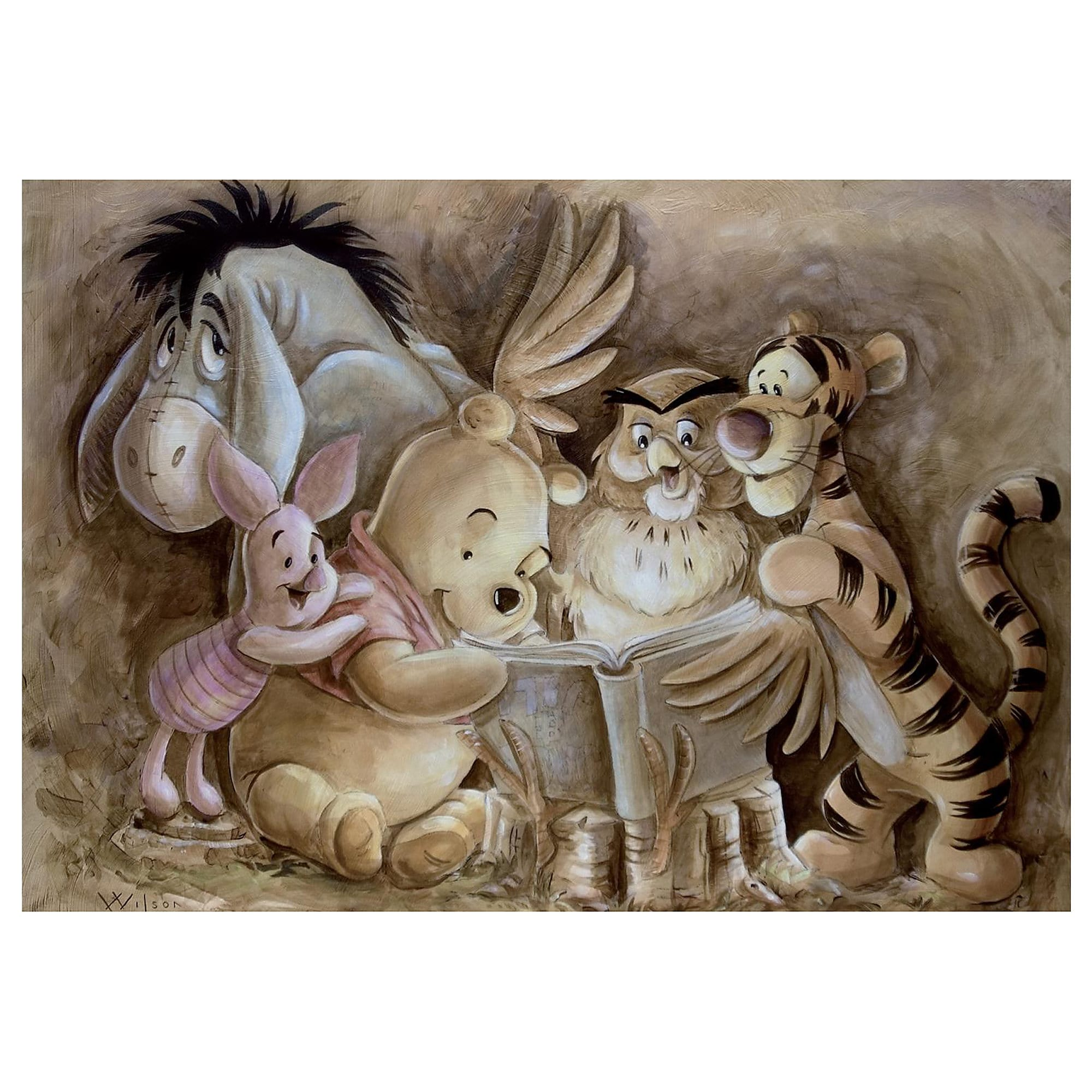 Winnie the Pooh ''Pooh and Company'' Giclée by Darren Wilson