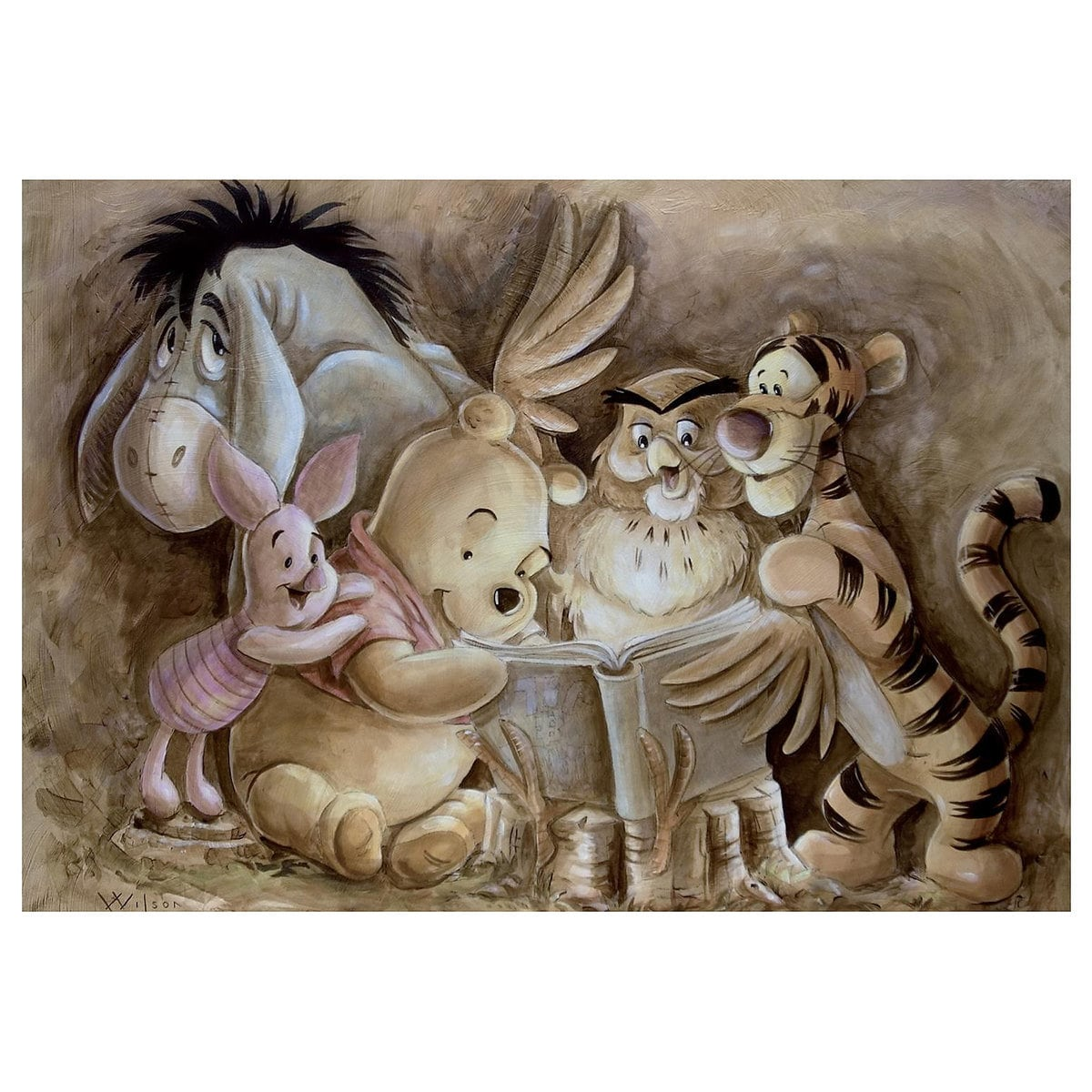 abbe04c8f3 Product Image of Winnie the Pooh   Pooh and Company   Giclée by Darren
