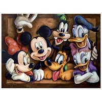 Image of Mickey Mouse ''The Gang'' Giclée by Darren Wilson # 1