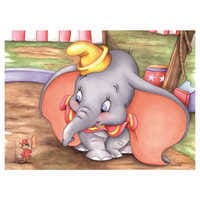 Image of ''Dumbo at the Circus'' Giclée by Michelle St.Laurent # 1