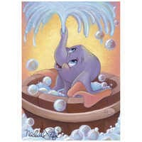 Image of ''Dumbo in Bubbles'' Giclée by Michelle St.Laurent # 1