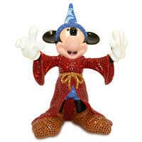 Image of Fantasia Sorcerer Mickey Mouse Figurine by Arribas Brothers # 2