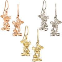 Mickey Mouse Earrings - Diamond and 14K